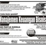 kelas bisnis manajemen keuangan bisnis