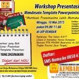 workshop presentasi dan mendesain TEMPLATE powerpoint - kursus komputer LKP KEMBAR KLATEN - Copy