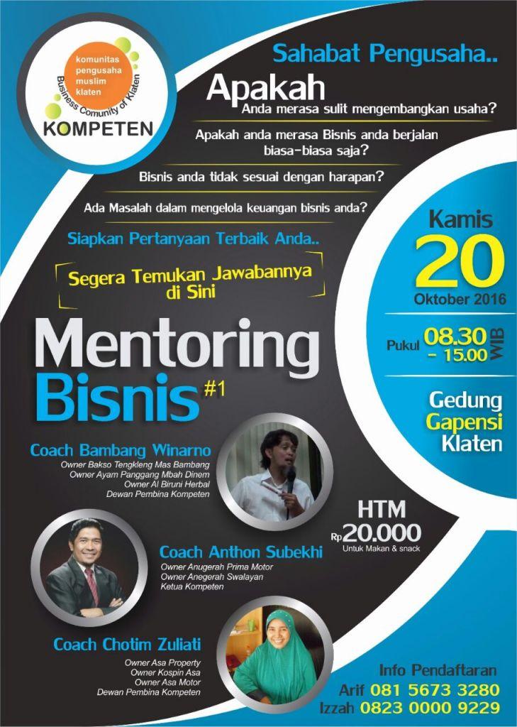 mentoring bisnis