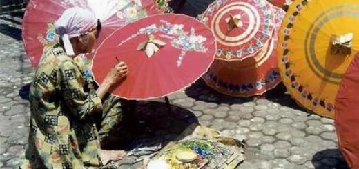 Sentra Kerajinan Payung di Klaten-1
