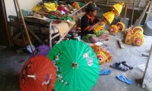 Sentra Kerajinan Payung di Klaten-3